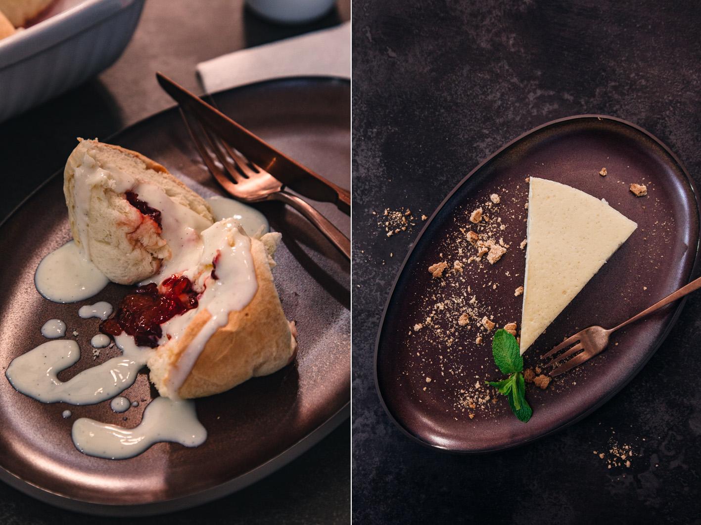 Cheesecakes und Buchteln
