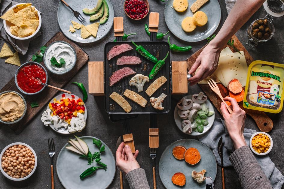 4 neue Ideen für's Raclette-Pfännchen
