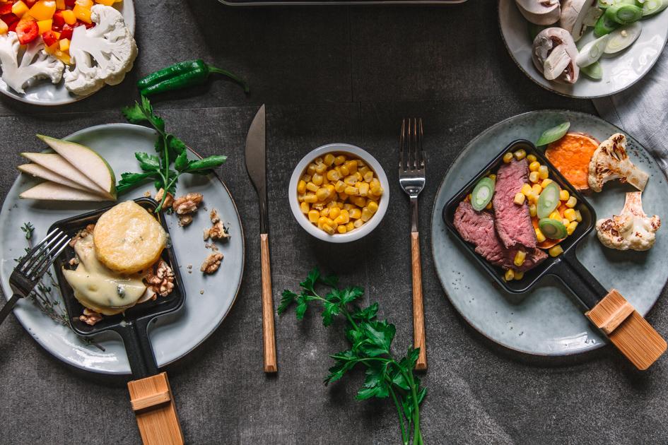 Raclette Tisch