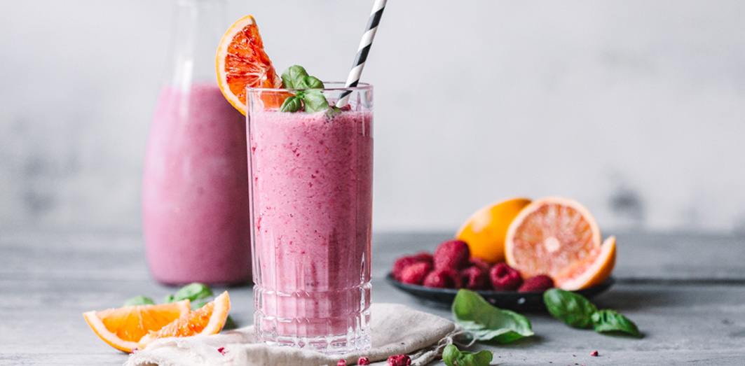 Blutorangen Smoothie HEader