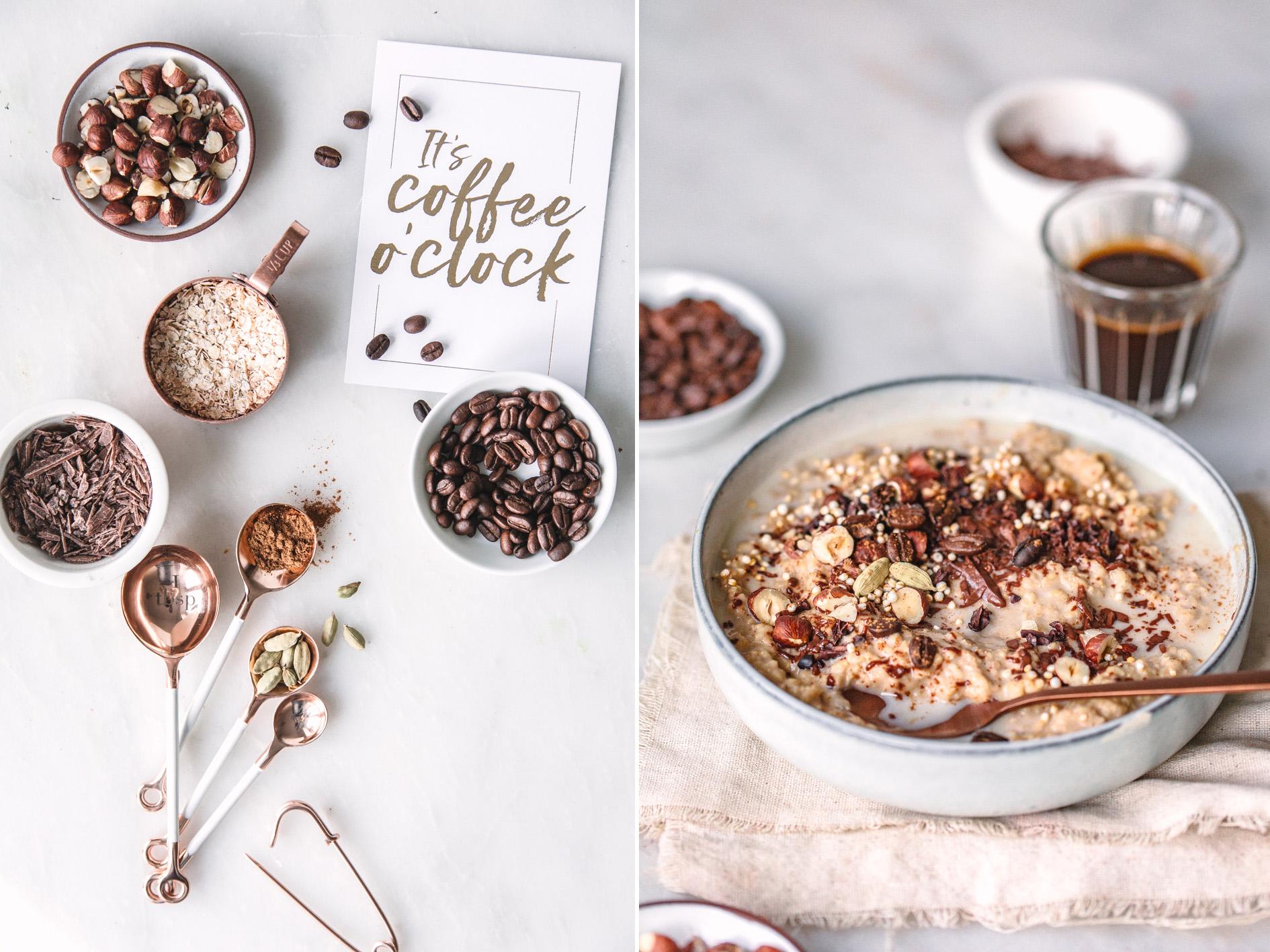 Schoko Kaffee Oatmeal