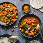 Einfaches Süßkartoffel-Curry