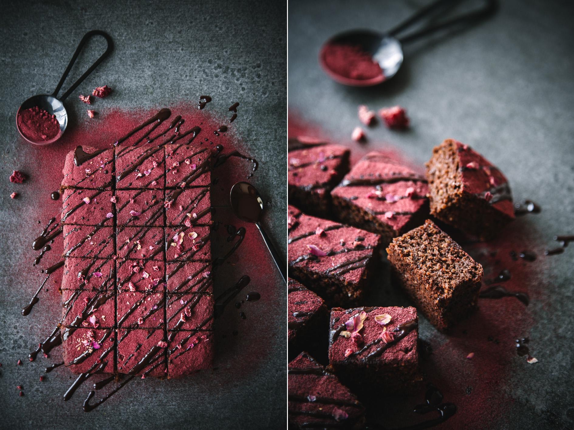 Gesündere Rote Bete Brownies