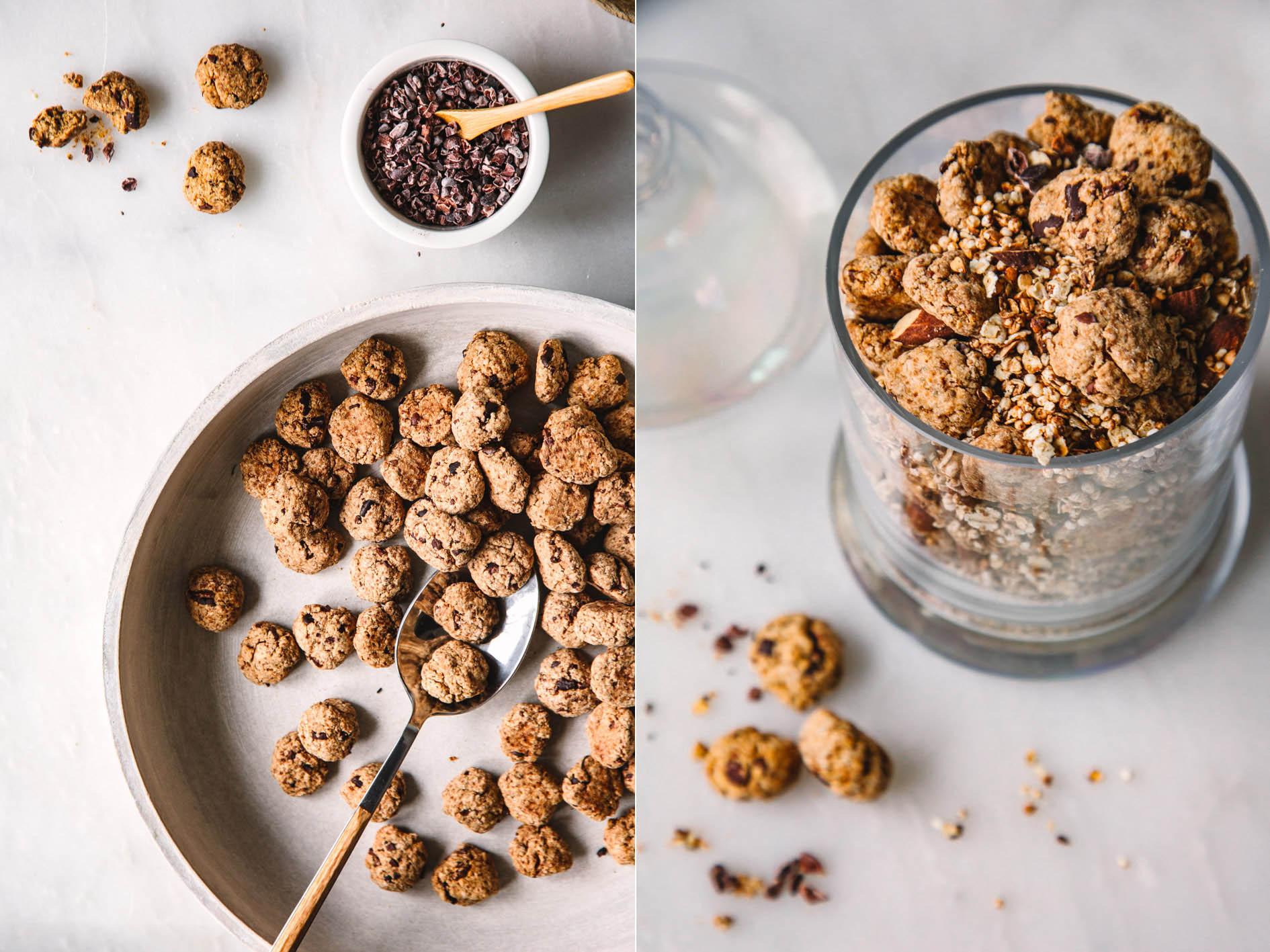 Gesundes Cookie Granola