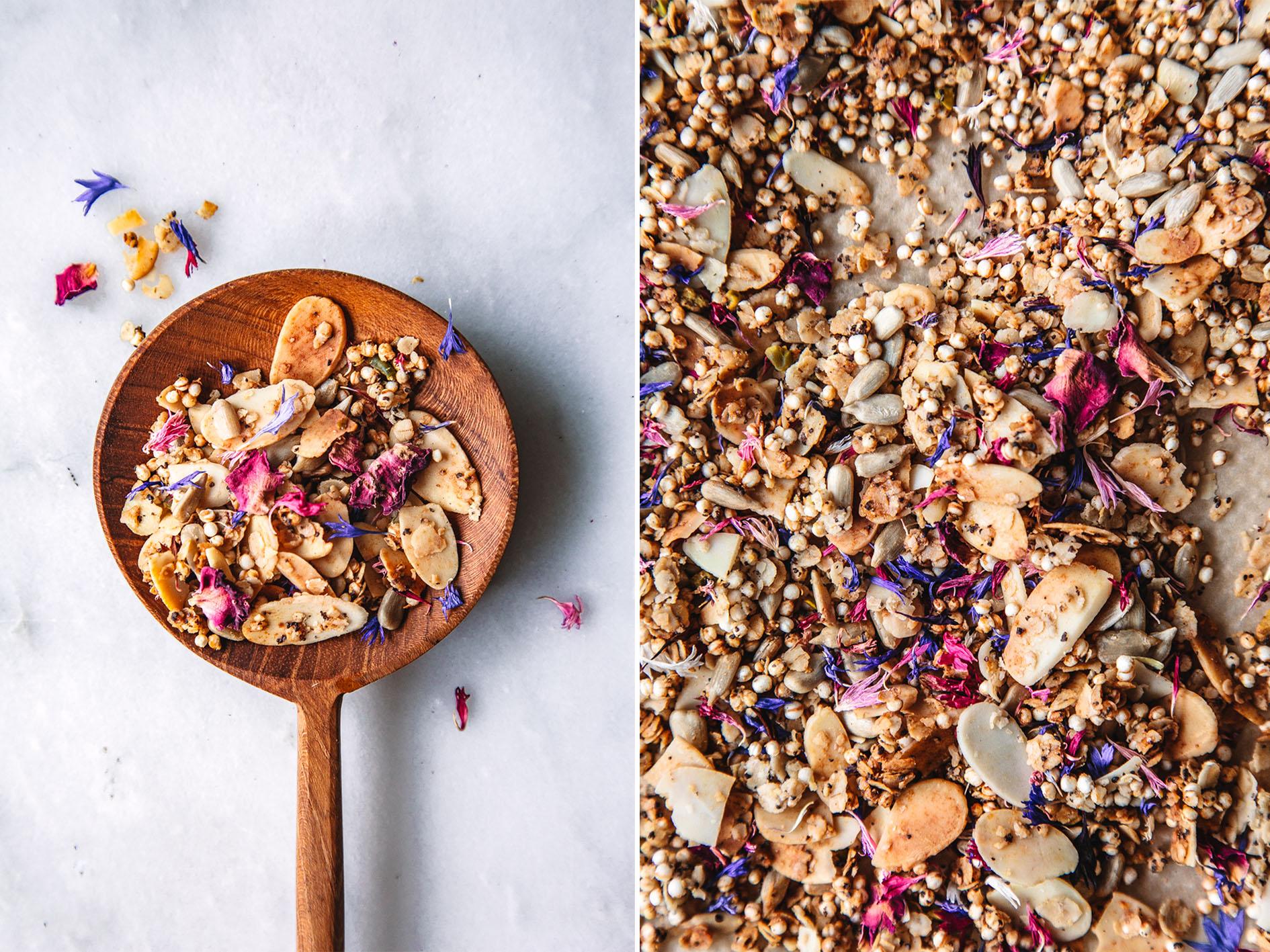 Frühlings-Granola mit Honig