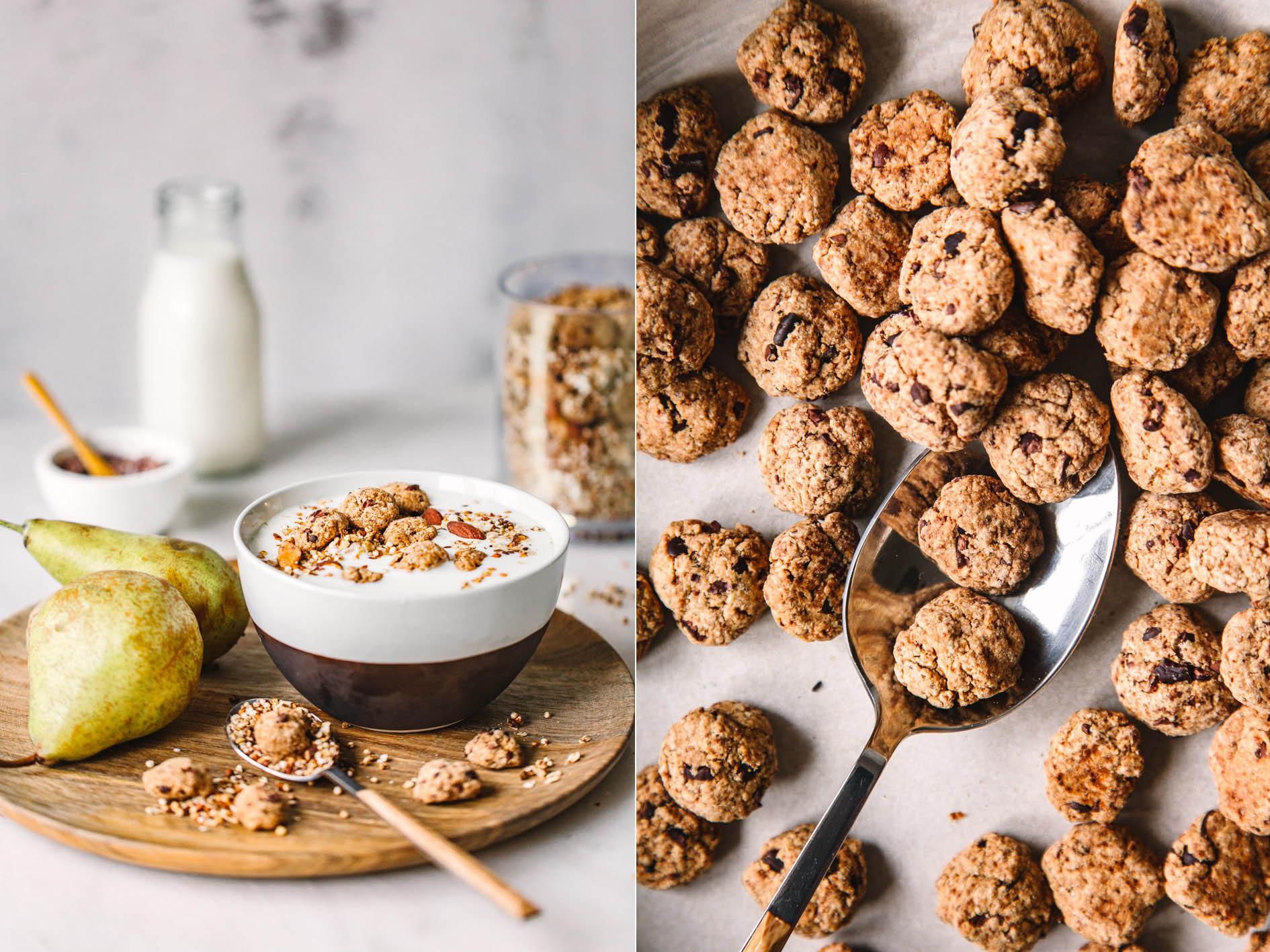 Müsli mit Mini Cookies