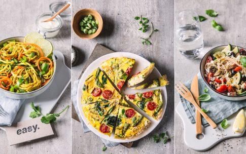 Meal Prep – 3 x Low Carb Pasta zum Vorbereiten