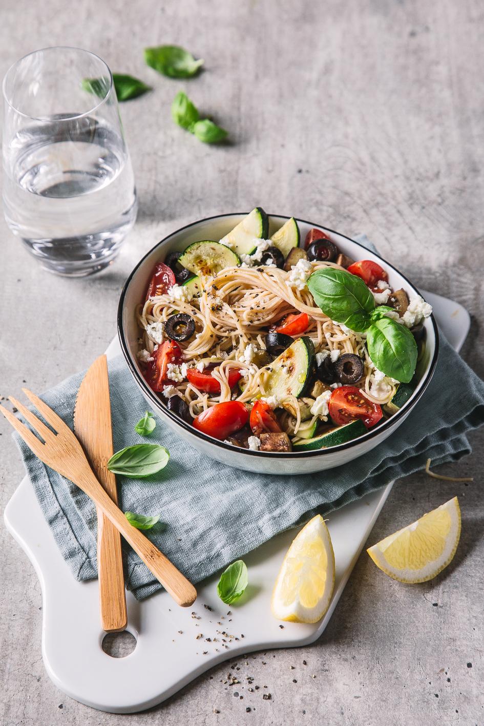 Italienischer Low Carb Nudelsalat