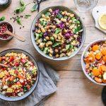 Drei einfache Grillsalate