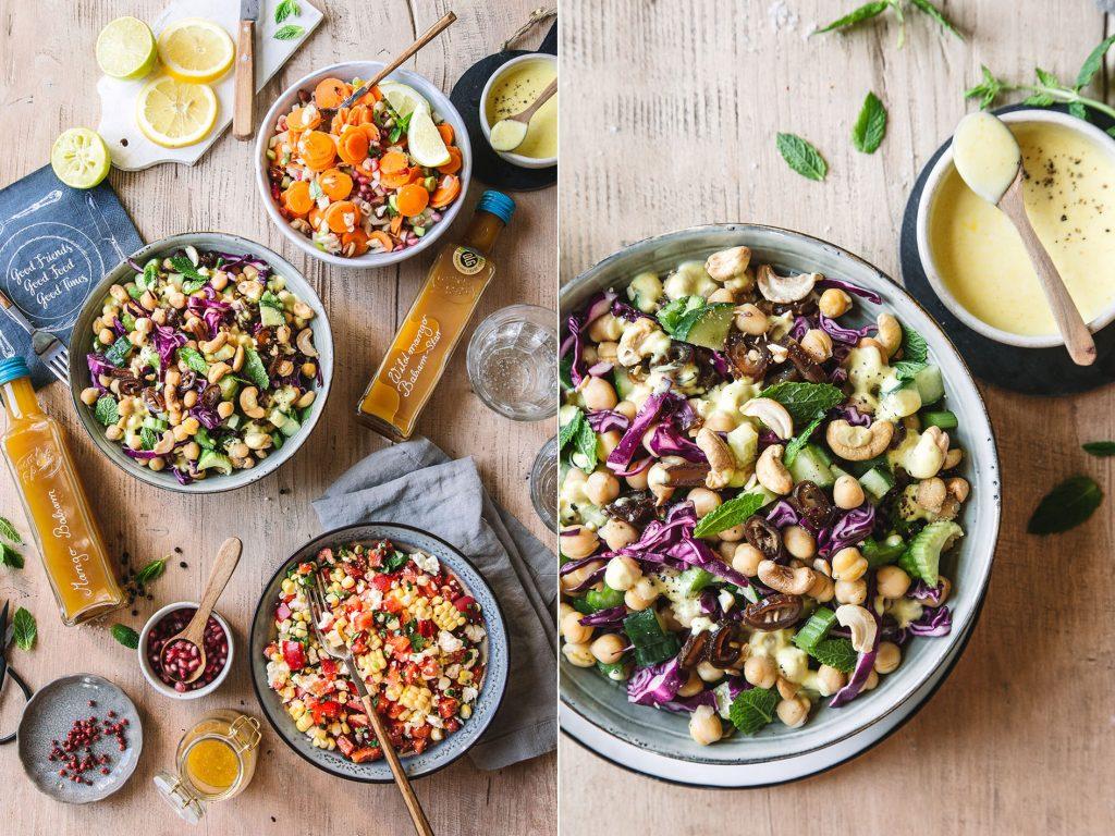 3 einfache Grillsalate