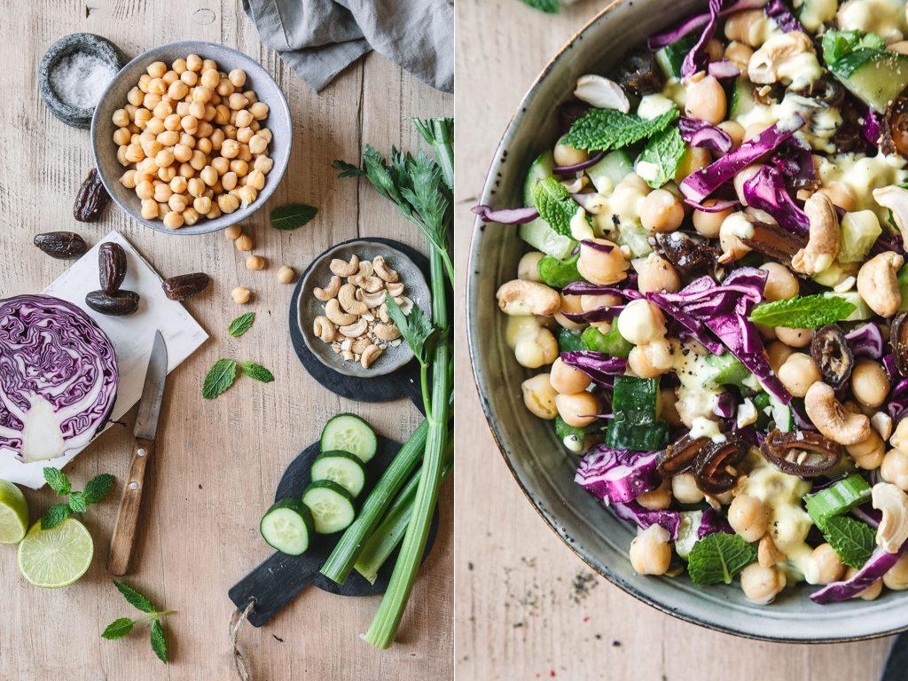 Kichererbsen-Curry-Salat