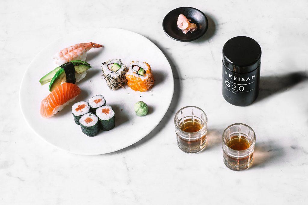 SKEISAN Goji Acai mit Sushi