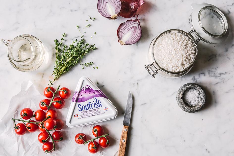 Zutaten Tomatenrisotto