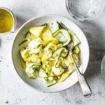 Roher Zucchinisalat