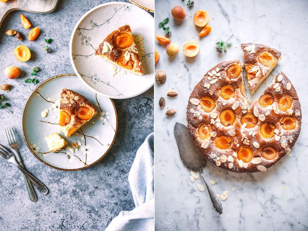 Mandel-Aprikosenkuchen (lowcarb, zuckerfrei)