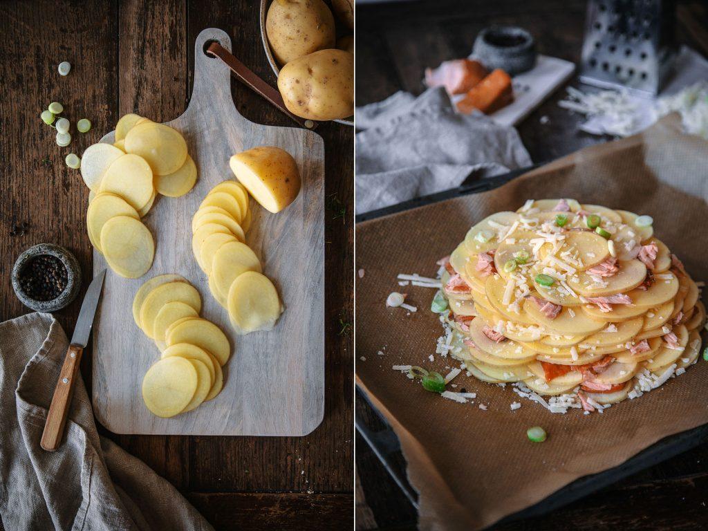 Zutaten für Kartoffelgalette