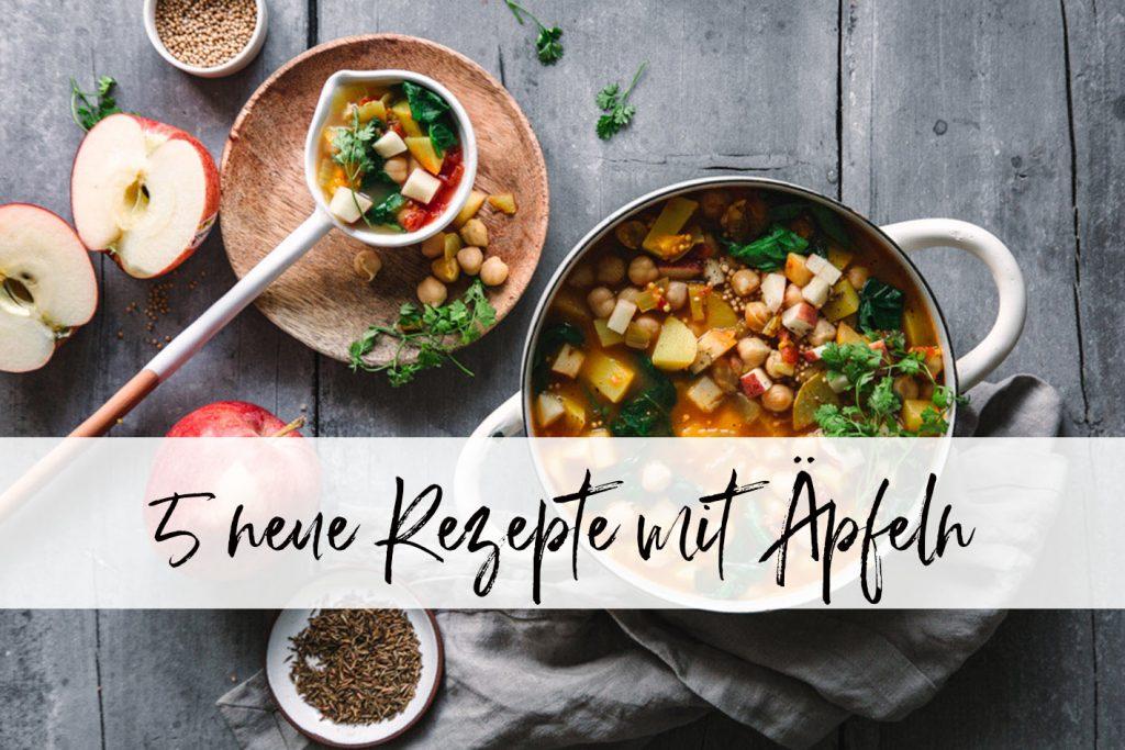 5 neue Apfelrezepte