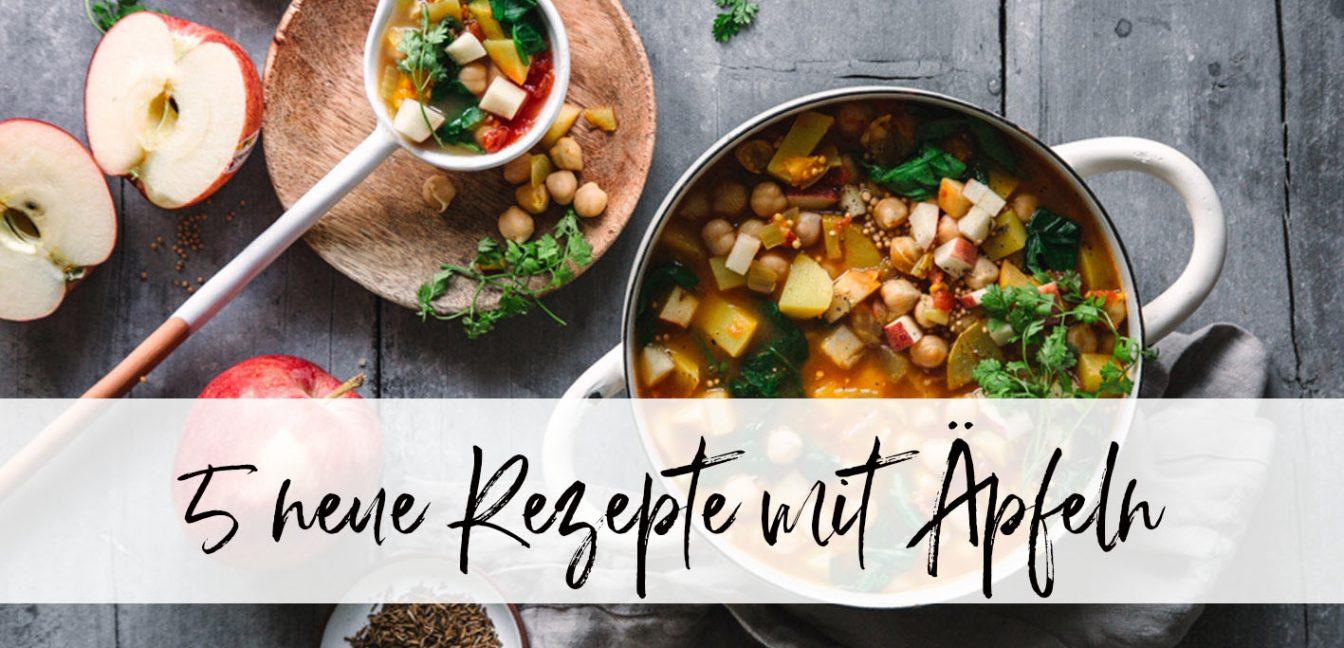 5 neue köstliche Apfelrezepte