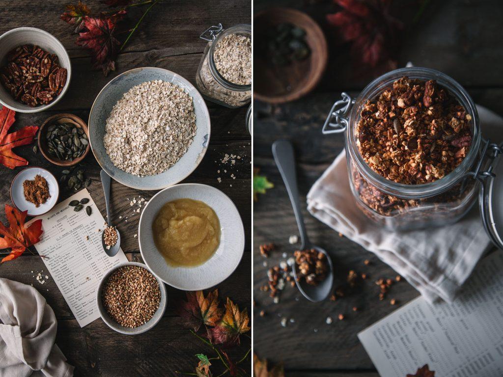 Knuspriges Herbst-Granola