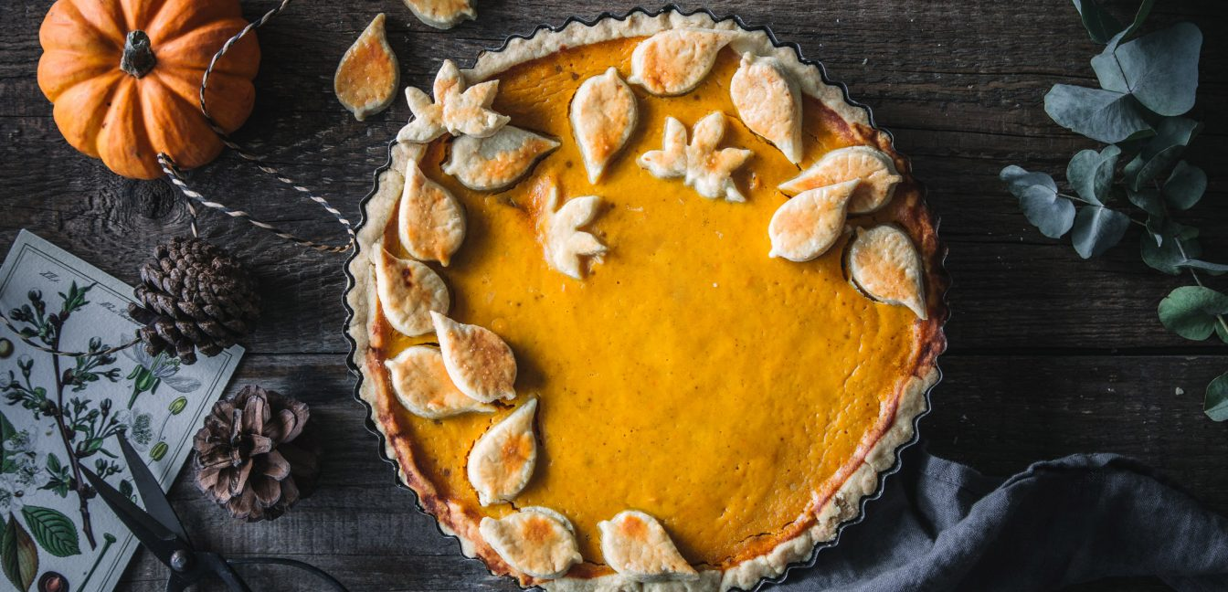 Glutenfreier Pumpkin Pie zu Thanksgiving