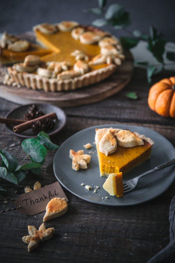 Stück Pumpkin Pie