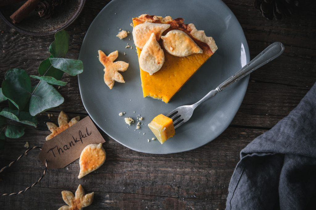 Pumpkin Pie zu Thanksgiving