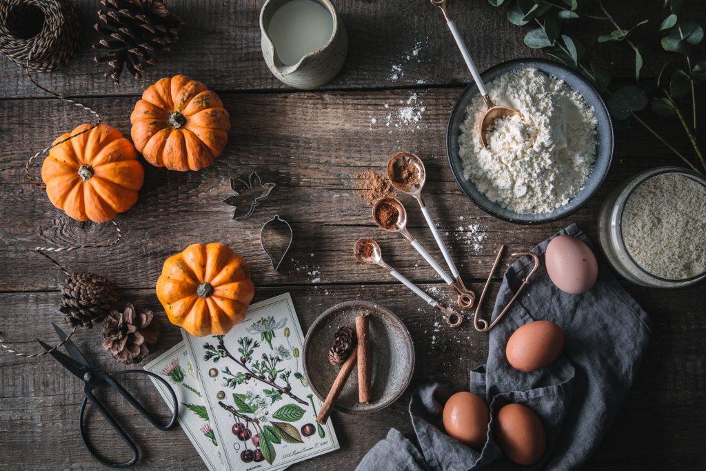 Zutaten für Pumpkin Pie