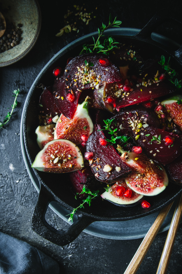Rote Bete Salat aus dem Ofen