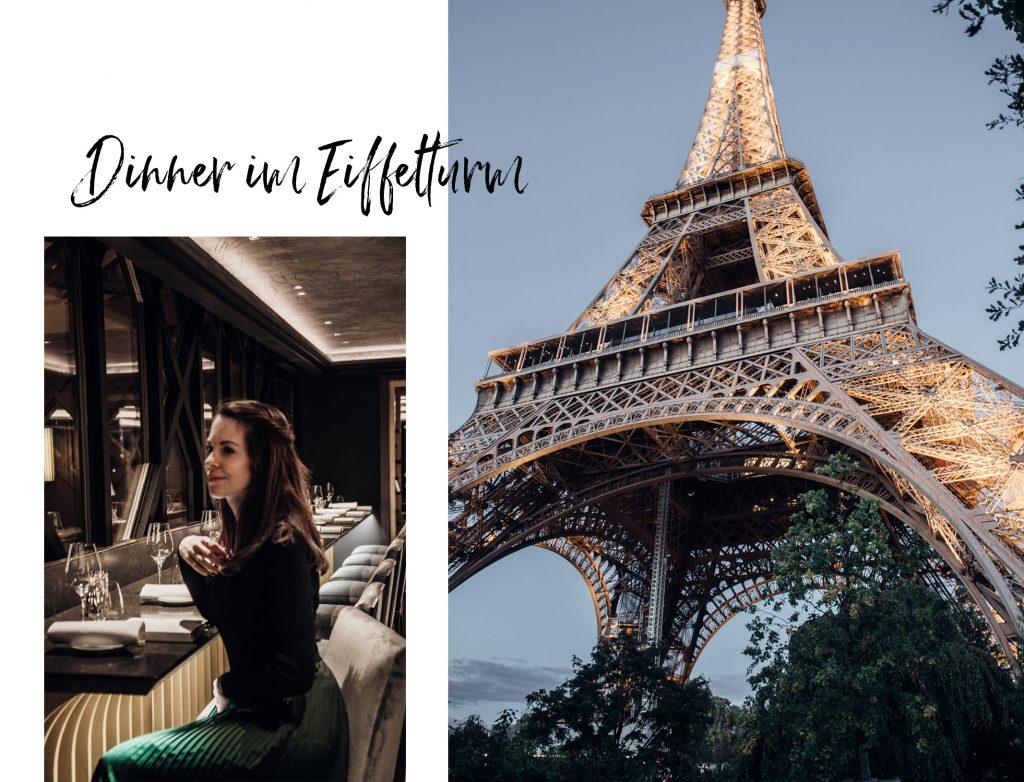 Dinner im Eiffelturm