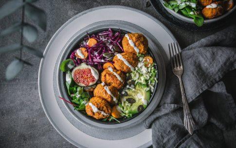 Kürbis-Falafel aus 5 Zutaten