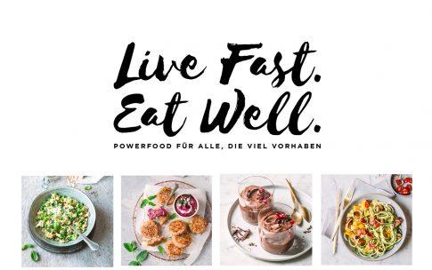 Live Fast. Eat Well. Mein Buch jetzt vorbestellen!