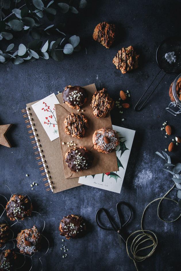 Lebkuchen mit Nüssen