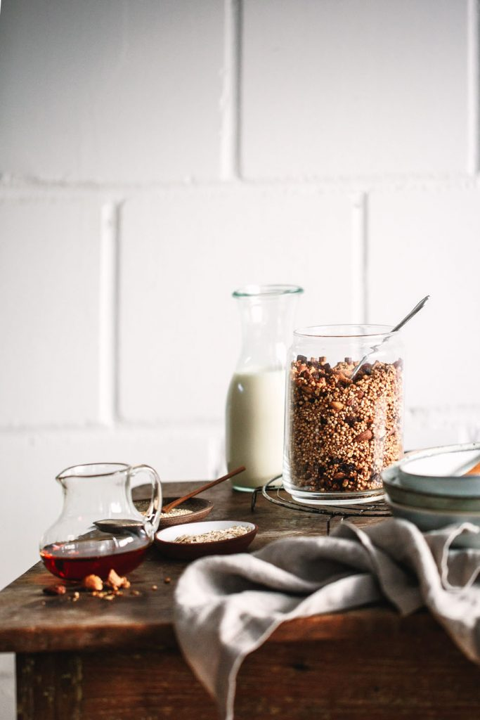 Quinoa-Knusper-Granola