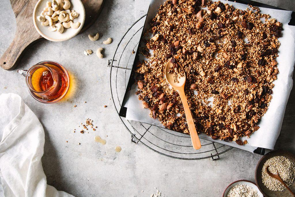 knuspriges Quinoa-Granola