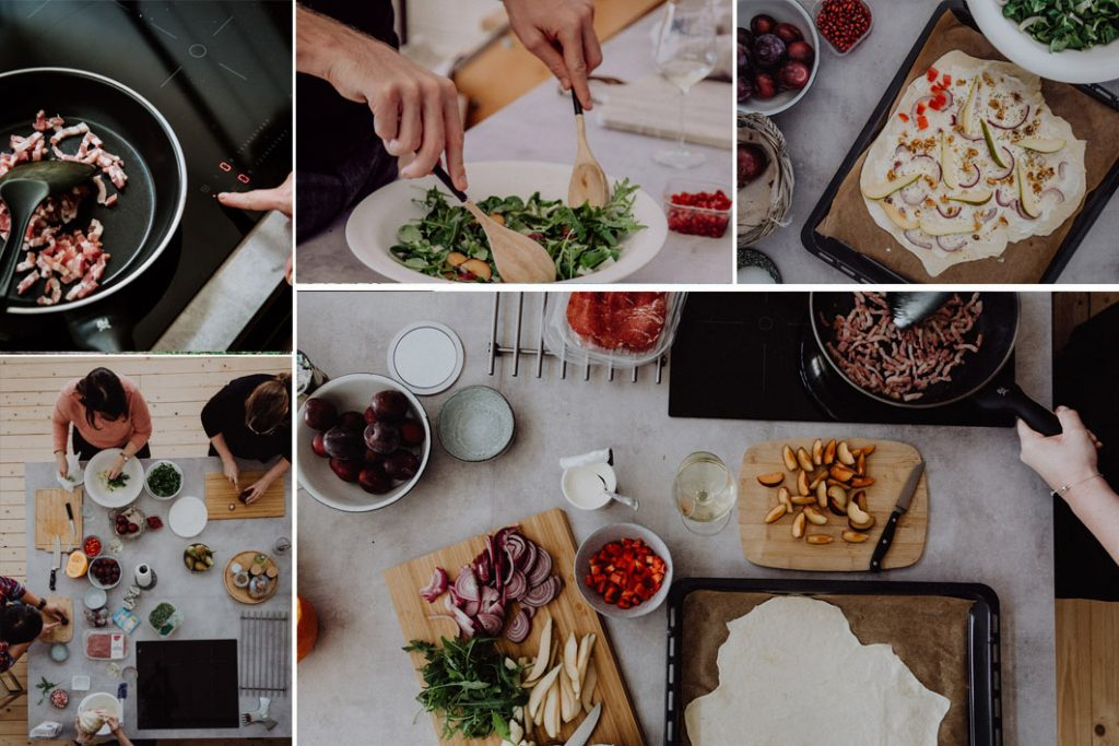 Kochabend mit freunden
