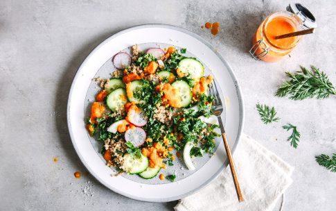Köstliches Möhren-Salatdressing mit Ingwer