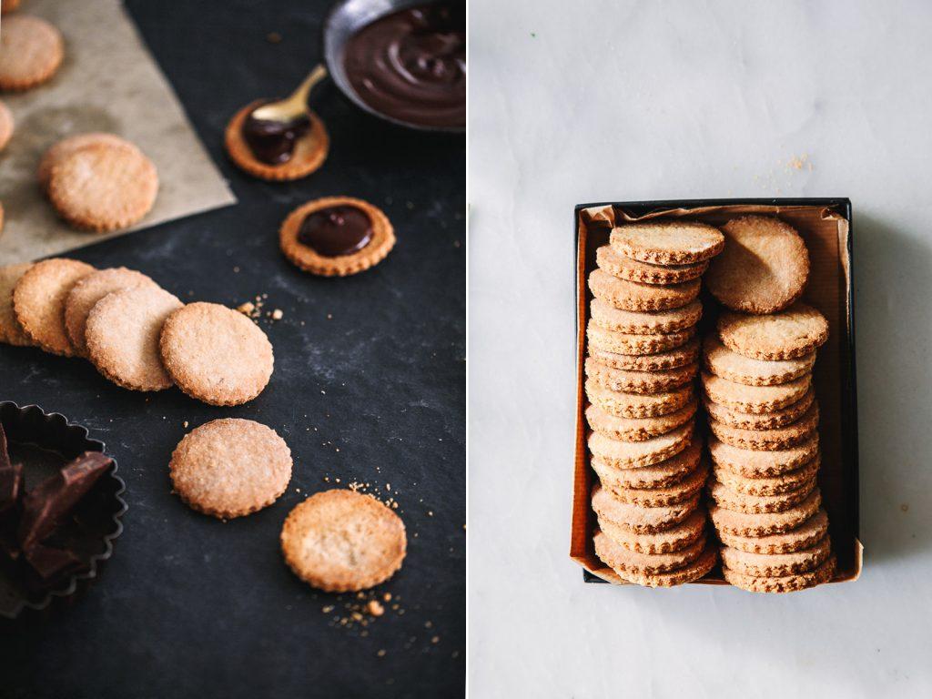 Kekse für gesündere Prinzenrolle