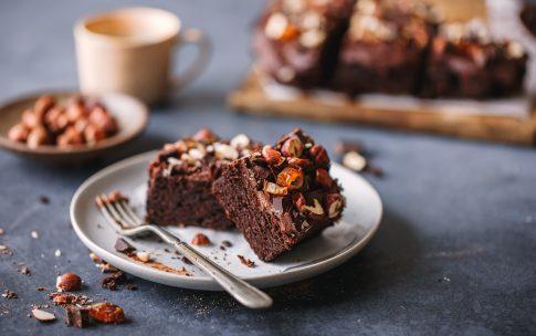 Umwerfende Tahini-Brownies