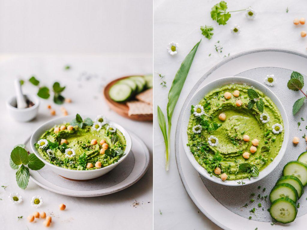 Kräuter Hummus
