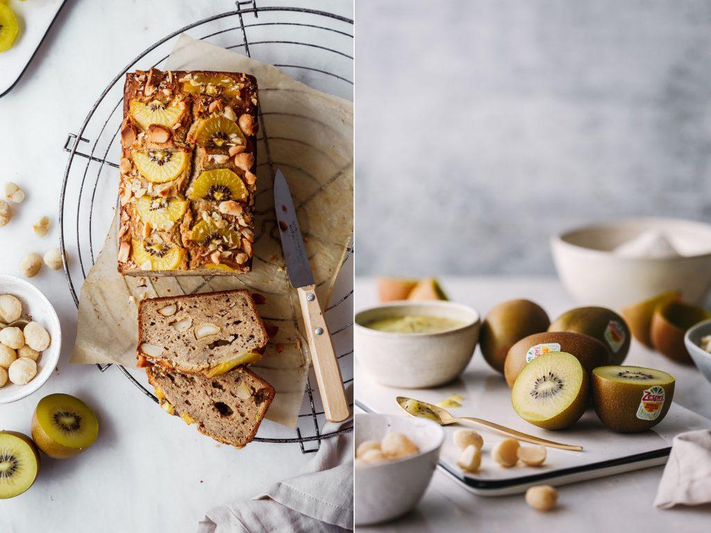 Zutaten für Banana Kiwi Bread