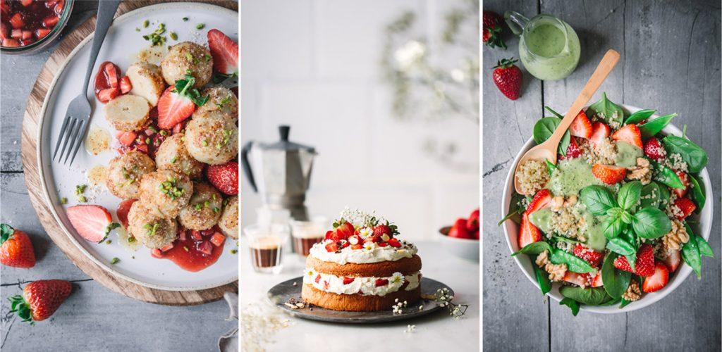 Erdbeer-Rezeptsammlung
