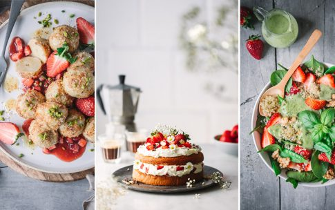 7 geniale Rezepte mit Erdbeeren