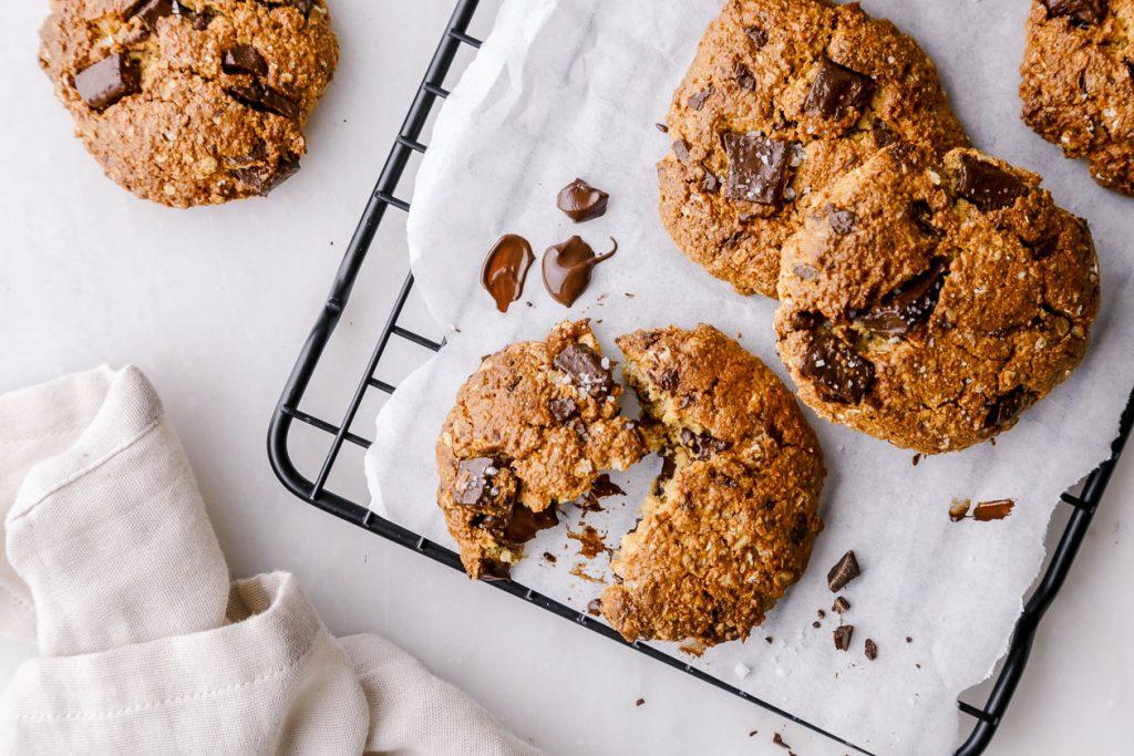 Die besten gesünderen Schoko Cookies