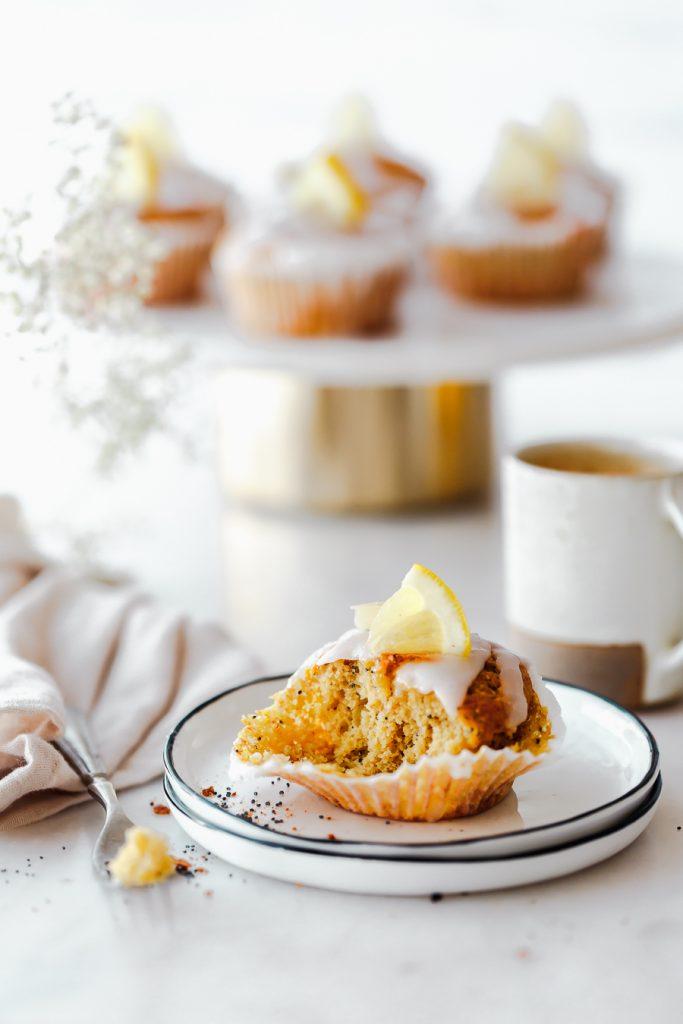 Rezept für leichte Zitronenmuffins ohne Zucker