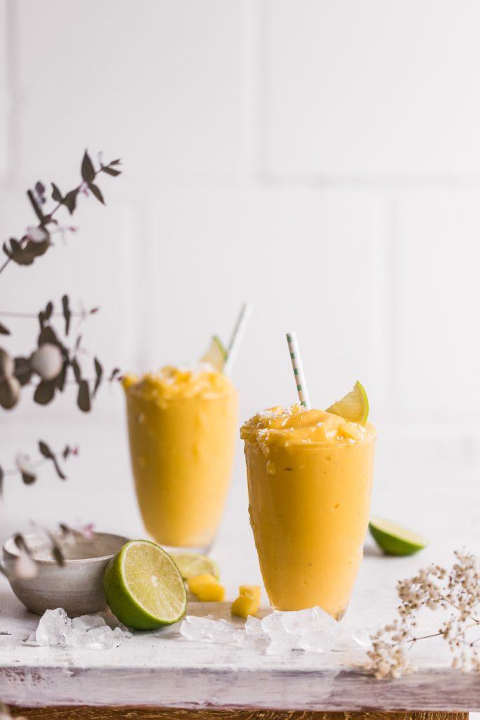 Cremiger Mango Milchshake