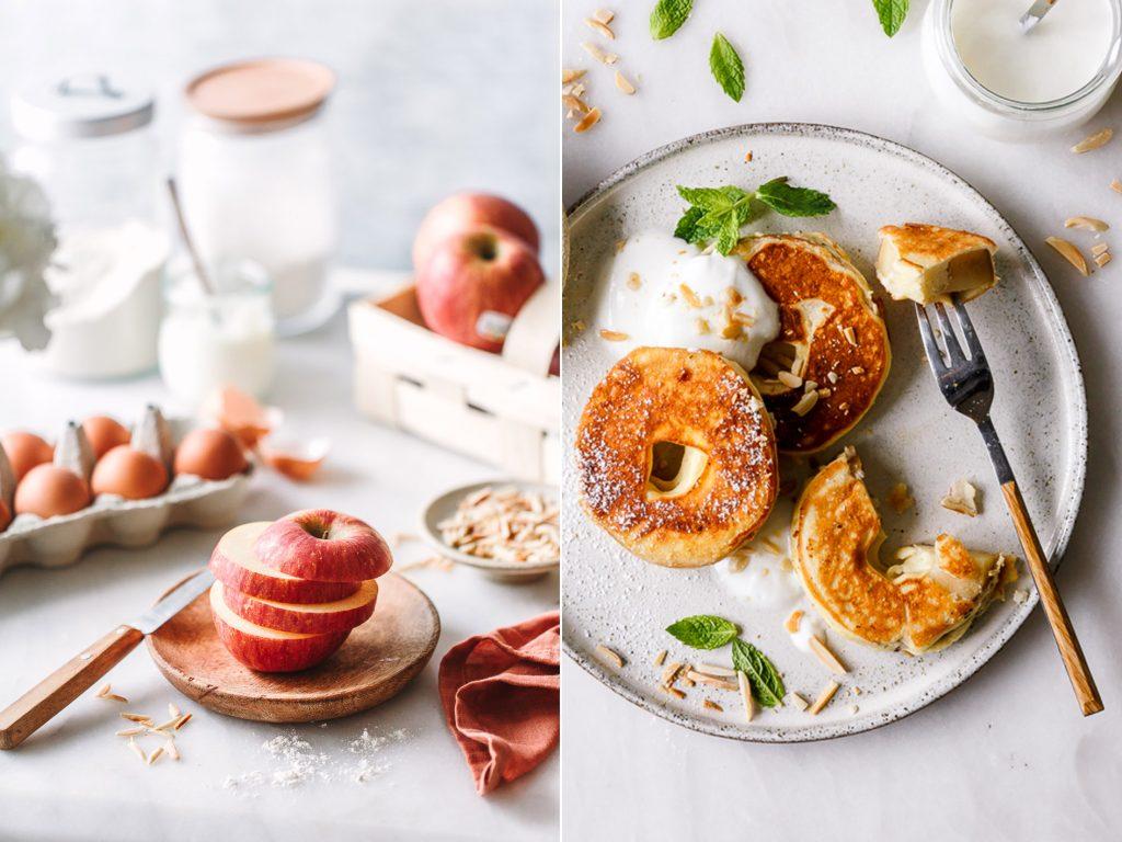 gesunde Apfelringe ohne Zucker