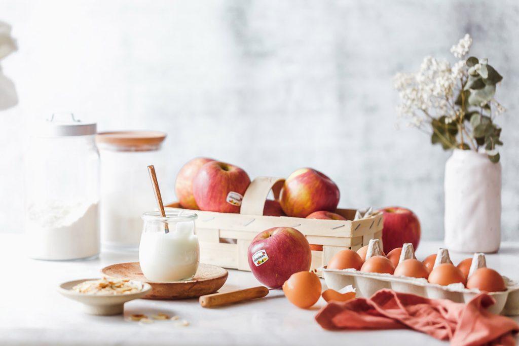 Gesündere Apfelküchle ohne Zucker