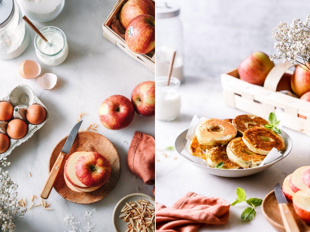 Gesündere Apfelküchle