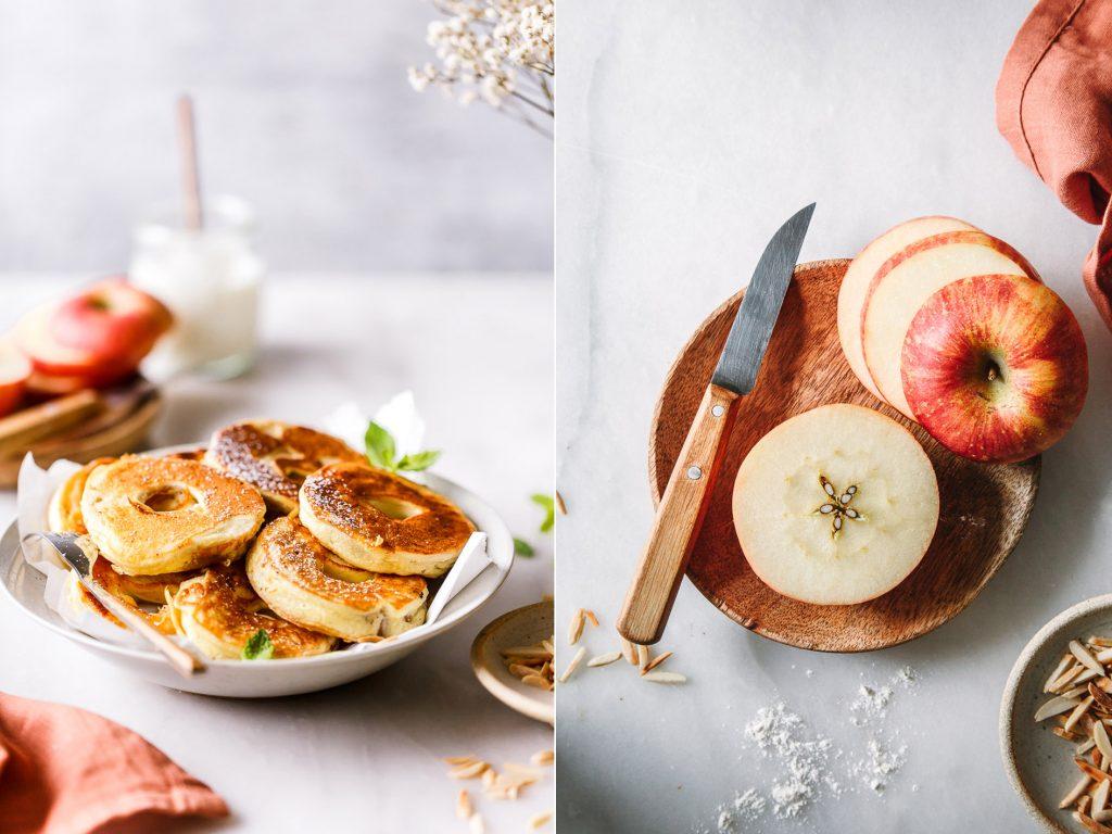 Südtiroler Apfelküchle ohne Zucker und ohne Mehl