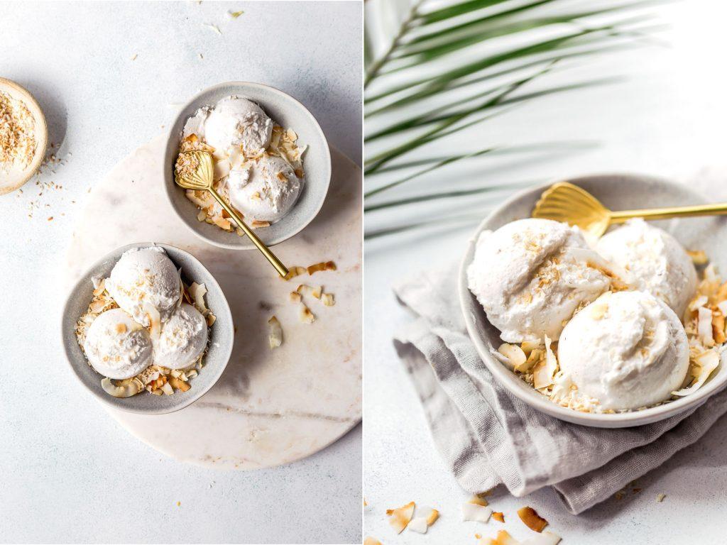 Kokos Eiscreme